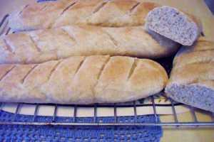 bröd utan jäst med filmjölk