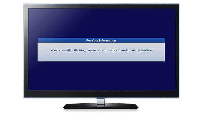 Sky hd box keeps updating system software