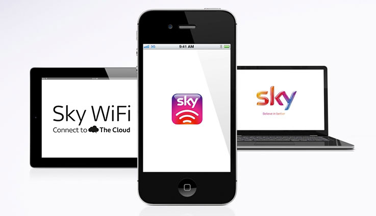 Connect to Sky Wifi