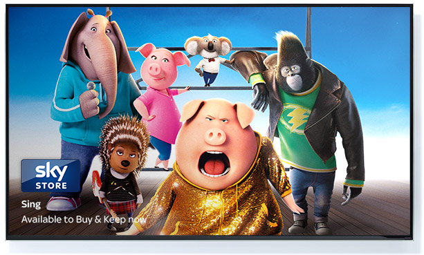 Sing available in Sky Store