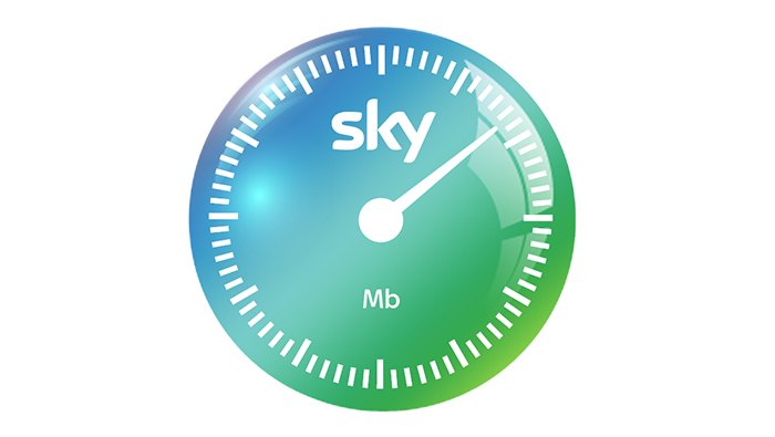 Sky broadband speed dial
