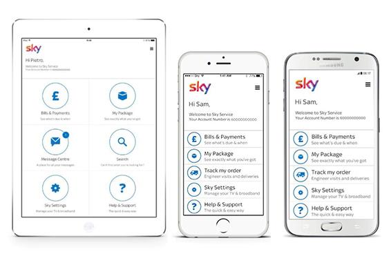 Sky service app