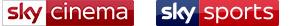 Sky Cinema & Sky Sports logo