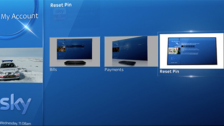 Reset PIN on Sky Q