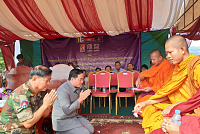 The governor of Preah Vihear urges...