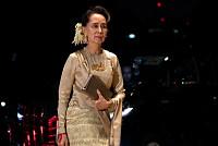 Aung San Suu Kyi blames the...