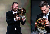 Barcelona man Lionel Messi wins...