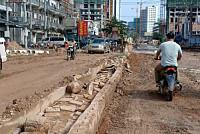 Road infrastructure in Preah Sihanouk...