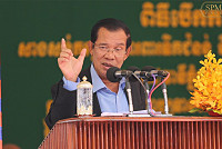 Hun Sen called for a halt to...