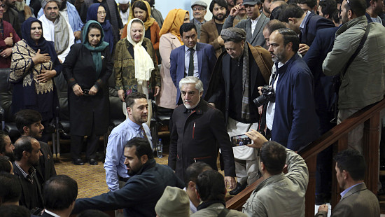 Key Afghan Presidential Candidate Dem...