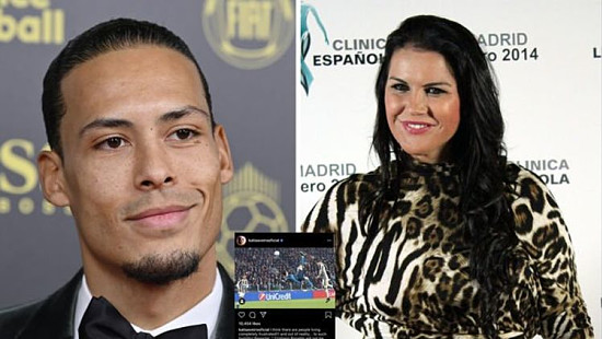Cristiano Ronaldo's sister in furious...