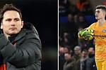 Chelsea boss Frank Lampard gives Kepa...