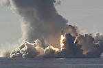 Russia test fires missiles from...