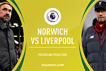 Norwich host Liverpool while...