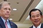 Samdech Techo Hun Sen Meets US...