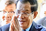Hun Sen congratulates China on...