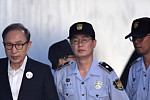 Former South Korean president jailed...
