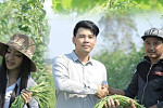 Cambodian farmers have hope! Leng...