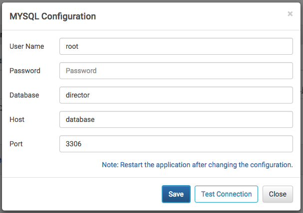 Configuring MySQL and ActiveMQ Services for Director – Hulft - Help