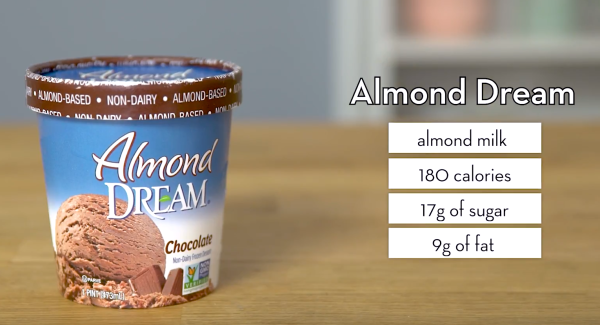 Almond Dream Vegan Ice Cream - The Wellnest by HUM Nutrition
