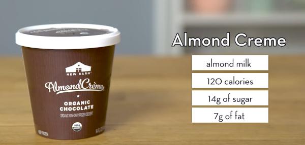 Almond Creme Vegan Ice Cream - The Wellnest by HUM Nutrition