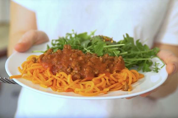 Whole30 Food Diary - Carrot Noodles - The Wellnest by HUM Nutrition