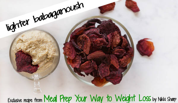 Lighter Babaganoush Recipe - Nikki Sharp - The Wellnest by HUM Nutrition