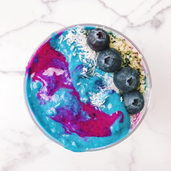 Psychedelic Probiotic Parfait - The Wellnest by HUM Nutrition