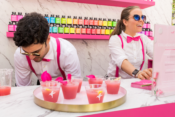 Collagen Pop cocktail station at HUM Together 2019