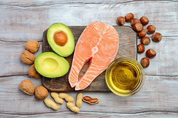 Healthy Fats in Salmon, Avacado, and Nuts - The Wellnest by HUM Nutrition
