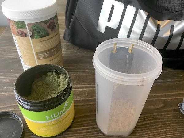 Vegan Bodybuilder - Vegan Protein Shake - The Wellnest by HUM Nutrition
