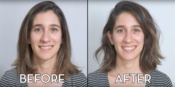 Bangs Makeover - WELLNEST