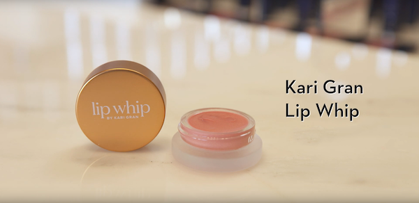 Kari Gan Lip Whip - Non-Toxic Makeup - The Wellnest by HUM Nutrition