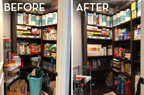 KonMari Kitchen Before & After - The Wellnest by HUM Nutrition