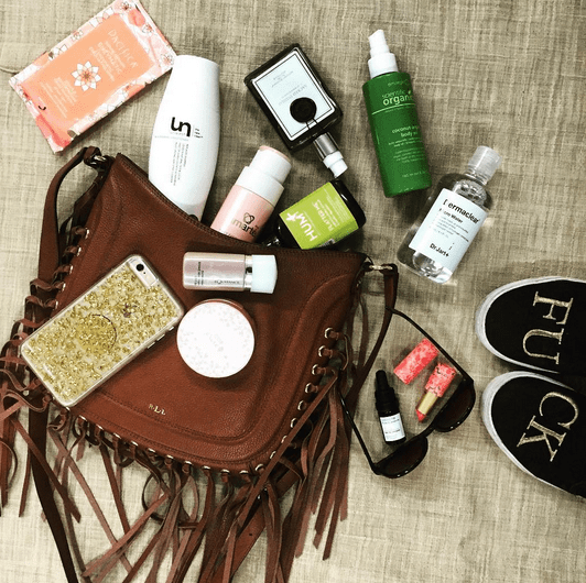 See HUM inside the bag of Spa Week Beauty Editor Ani Palen - The Wellnest by HUM Nutrition