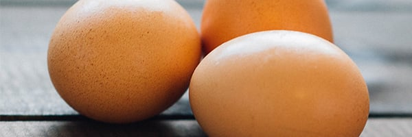 Best Vitamins for Skin include Vitamin B in Eggs