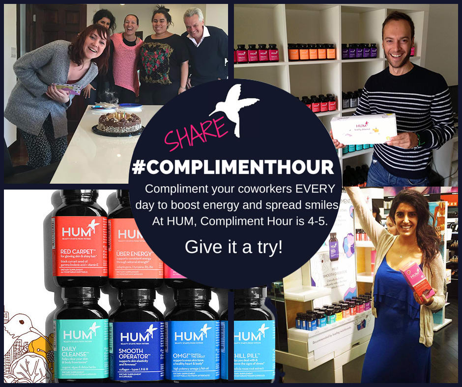 Reduce Stress with Compliment Hour