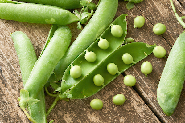 Peas - Low Probiotic Food - The Wellnest by HUM Nutrition