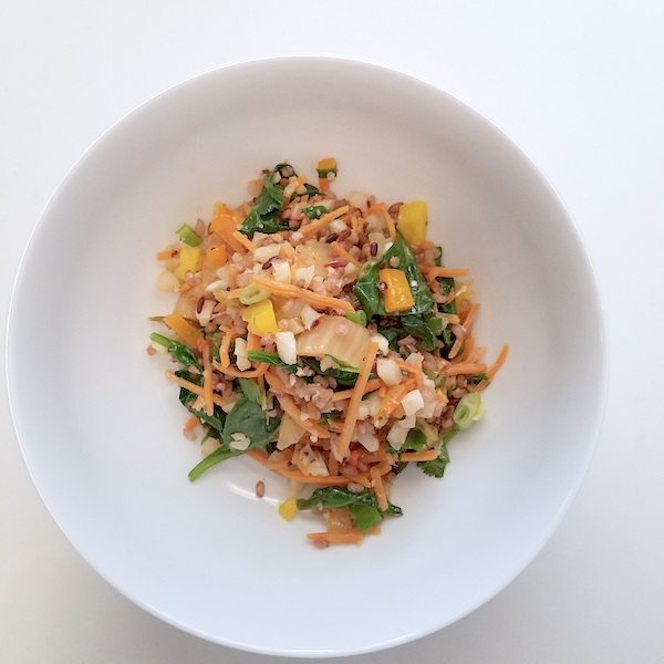 Kimchi Fried Rice - Elissa Goodman Cleanse - The Wellnest by HUM Nutrition