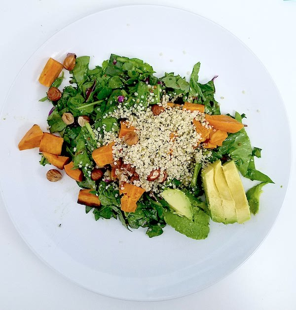 Hazelnut Salad - Elissa Goodman Cleanse - The Wellnest by HUM Nutrition