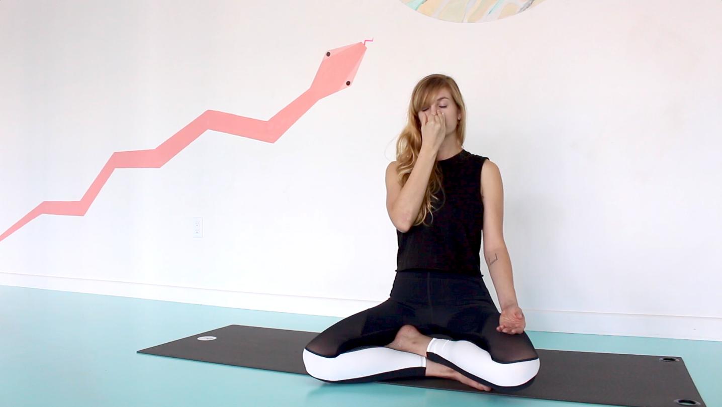 Alternate-Nostril Breathing - Breathing Exercises - The Wellnest by HUM Nutrition