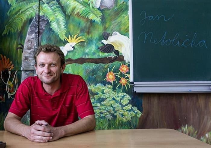 Jsou kreativní aplní života, říká osvých studentech Jan Netolička