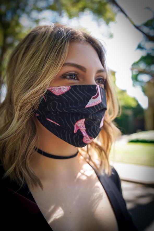 Stiletto Cotton Face Mask