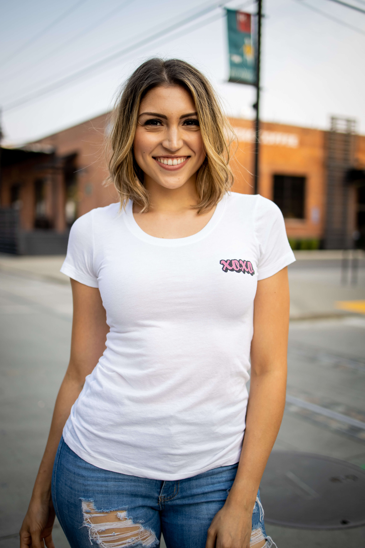 XOXO Ladies Bella Canvas Triblend T-Shirt
