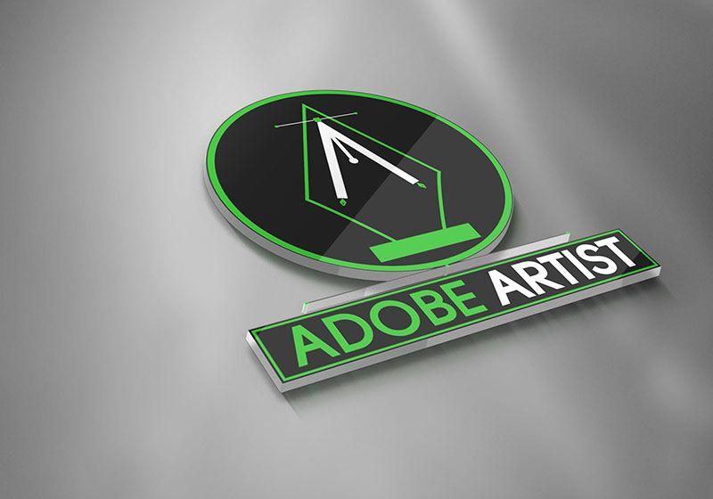 Adobe Artist Logo Image