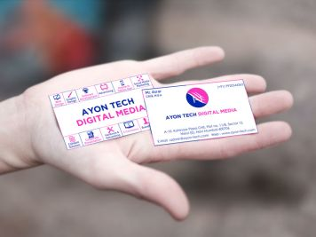 Ayon Tech Business Card Image
