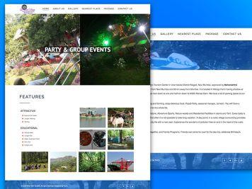 River View Tourism Website Image