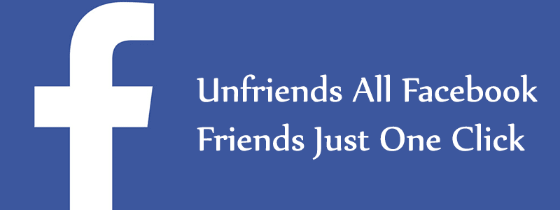 How to Unfriend All Friends on Facebook at Once image
