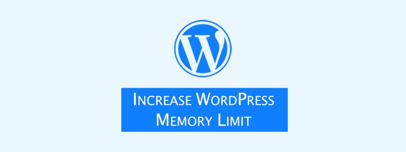 WordPress Memory Exhausted Error [Increase WordPress Memory Limit] image