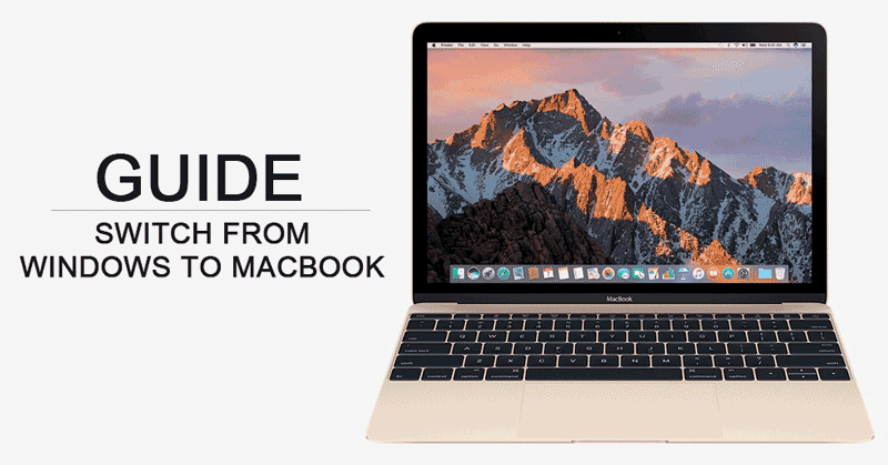 Switch from Windows Laptop to Mac Macbook – A Beginner's Guide image
